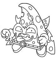 Dibujo para colorear Rocky Forte 416 Trickster Troop