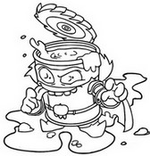 Coloring page Tomaterror 422  Trickster Troop