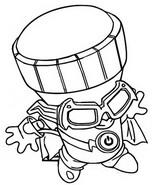 Dibujo para colorear Spybulb S03 Spies