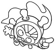 Coloring page Flynn Wheel 338 Sky Runners