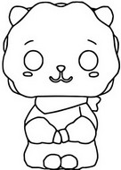 Coloring page RJ