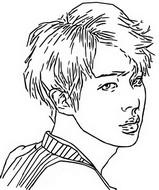 Kleurplaat Jin
