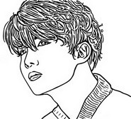 Coloring page J-Hope