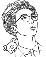 Coloring page RM