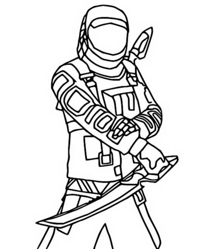 Coloring Page Fortnite Chapter 2 Season 5 Kondor 4 The kondor skin is a fortnite cosmetic that can be used by your character in the game! morning kids