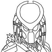 Disegno da colorare Predator