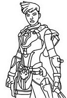 Coloring page Reese