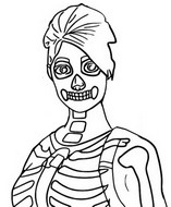 Coloring page Skull Ranger