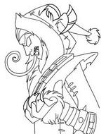 Desenho para colorir Krampus