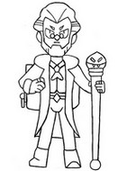 Coloring page Byron