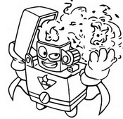 Coloring page Flamespark 268 Rogue Patrol