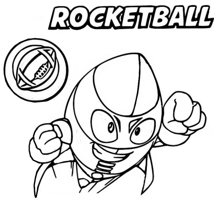 Coloring page Rocketball 096 Bay Force - Superthings Series 2 Superzings