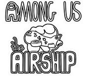 Tulostakaa värityskuvia Airship Logo