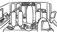 Målarbok Polus