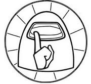 Målarbok Logotyp