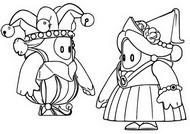 Disegno da colorare Pelli medievali