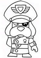 Malebøger Colonel Ruffs