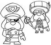 Målarbok Colonel Ruffs och Ronin Ruffs