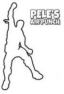 Kolorowanka Pelé's air punch