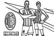 Kolorowanka AC Milan
