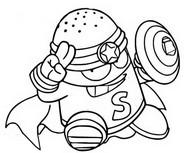 Dibujo para colorear Tech Masters 478 Captain Salty