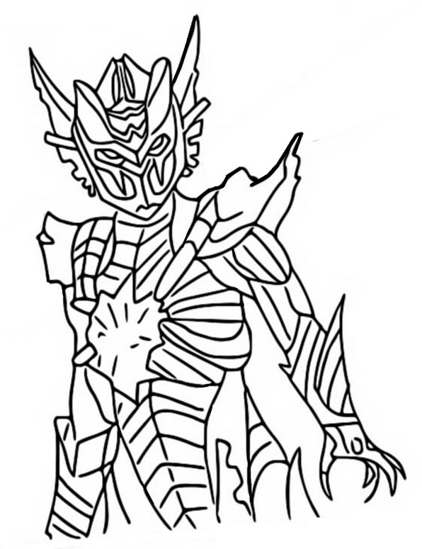 Coloring Page Fortnite Chapter 2 Season 6 Spire Assassin 18