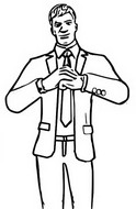 Coloring page Agent Jones