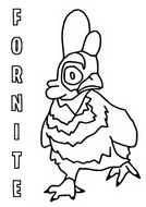 Coloring page Chicken