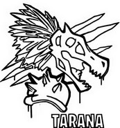 Kleurplaat Tarana