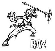 Malvorlagen Raz (symbol)