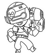 Coloring page Smuggler Penny