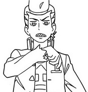 Coloring page Episode 7 - Serving Up the Flute Cup