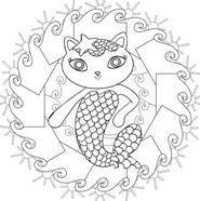 Målarbok Mercat