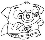 Coloring Pages Chip And Potato Morning Kids