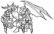 Kleurplaat Rakan