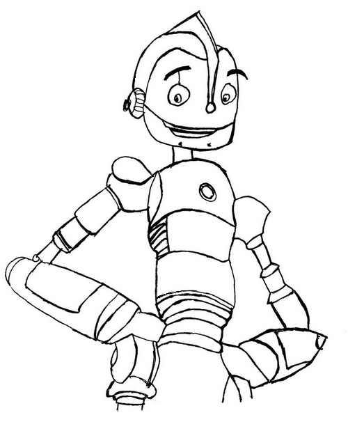 Malvorlagen Robots 1
