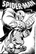 Desenho para colorir Homem-Aranha