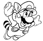 Coloring Pages Super Mario - Morning Kids