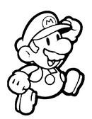 Fargelegging Tegninger Super Mario