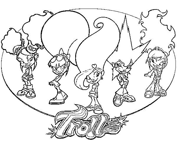 Coloring page trollz 1 - Dessin de troll ...