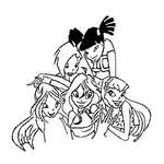 Desenho para colorir Winx Club