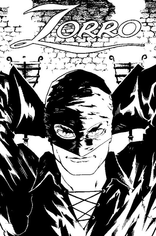 Zorro Malvorlagen | Coloring And Malvorlagan