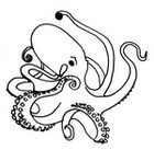 Malebøger Blæksprutte
