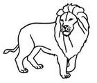 Malebøger Løve