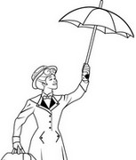 Malvorlagen Mary Poppins