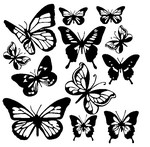 Coloring page Butterflys