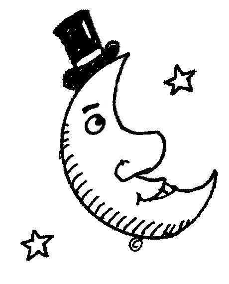 Desenho Para Colorir Estrelas Sol Lua 1