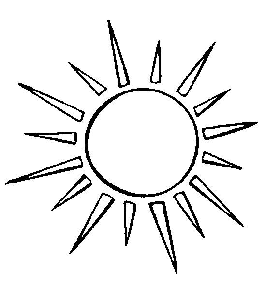 Desenho Para Colorir Estrelas Sol Lua 5