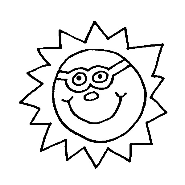 Coloring Pages Stars Sun Moon Drawing