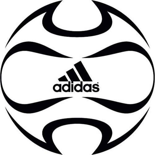 Disegno Da Colorare Calcio Adidas Pallone Da Calcio 16